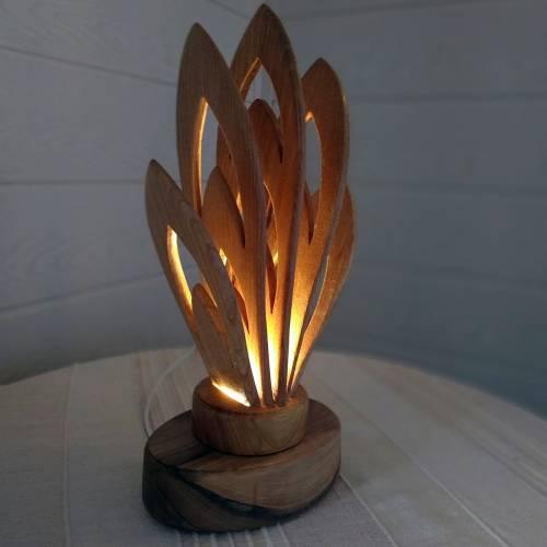 Купить светильник из дерева. Изделия из дерева ТРИКОН